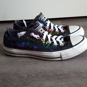Converse All Star Metallic Print